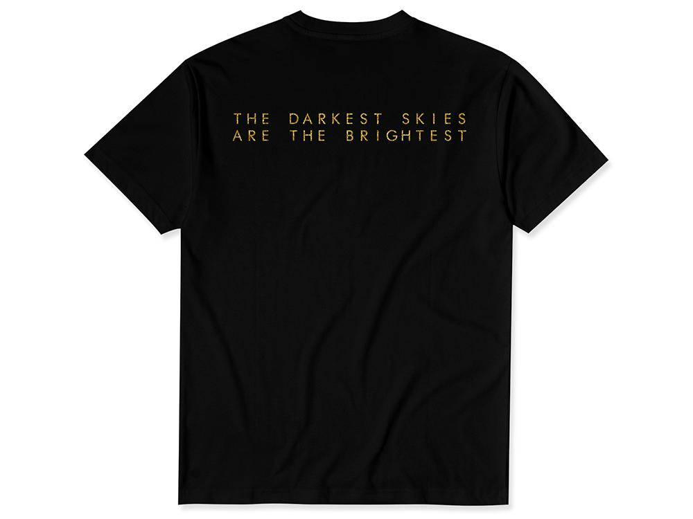 DARKEST SKIES T-SHIRT Black