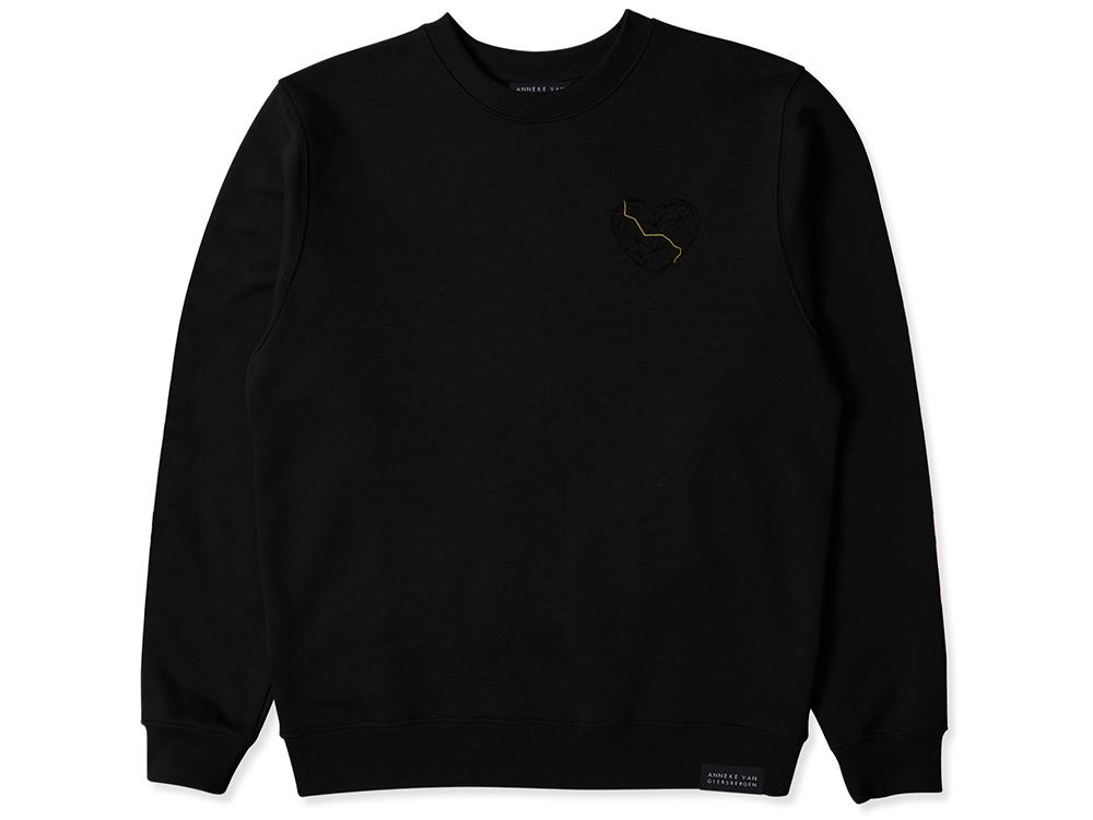 DARKEST SKIES CREWNECK Black