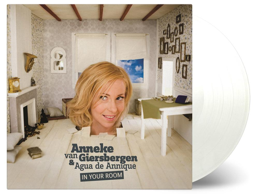 In Your Room - White LP - Signed!